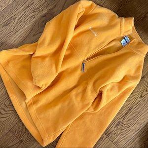 columbia fleece quarter zip
